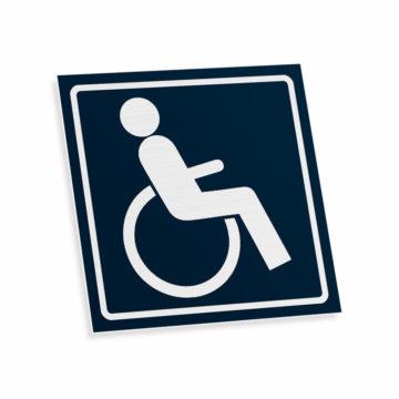 Tabliczka piktogram niepełnosprawni