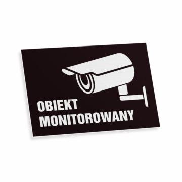 Tablica piktogram obiekt monitorowany