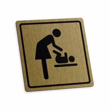 Tabliczka piktogram matka zdzieckiem