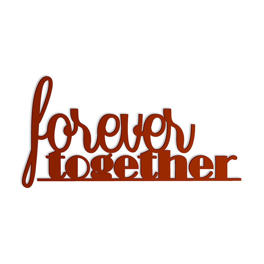 Dekoracja Napis 3d Forever Together