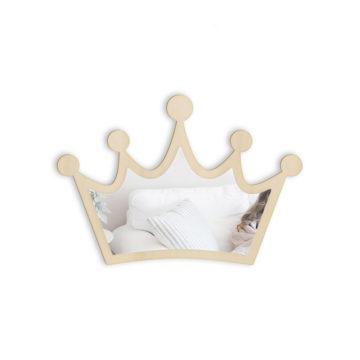 Lustro dopokoju dziecięcego korona