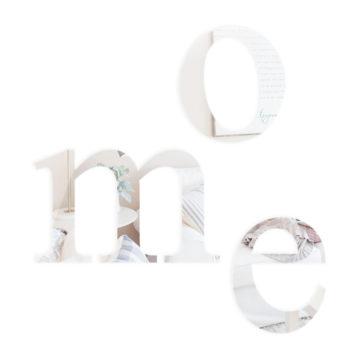 Litery lustrzane małe