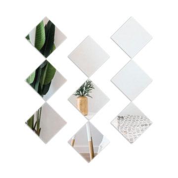 Lustro samoprzylepne kwadrat